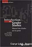 Introduction aux Gender Studies. Manuel des études sur le genre.