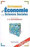 Dictionnaire d'économie et de sciences sociales.