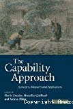 The capability approach : concepts, measures and applications.