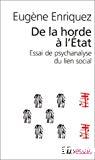 De la horde à l'Etat. Essai de psychanalyse du lien social.