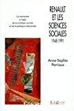 Renault et les sciences sociales 1948-1991.