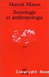 Sociologie et anthropologie. Précédé d'une
