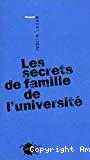 Les secrets de famille de l'université.
