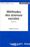 Méthodes des sciences sociales.