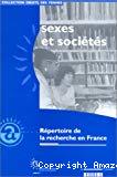 Sexes et sociétés. Répertoire de la recherche en France.