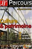 Culture et patrimoine : les métiers, l'emploi, les études.