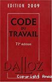 Code du travail 2009.