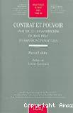 Contrat et pouvoir : essai sur les transformations du droit privé des rapports contractuels.
