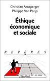 Ethique économique et sociale.
