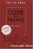 Code du travail 2008.