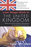 Low-wage work in the United Kingdom.