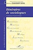 Itinéraires de sociologues : histoires de vie et choix théoriques en sciences sociales.