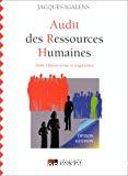 Audit des ressources humaines.
