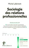 Sociologie des relations professionnelles.