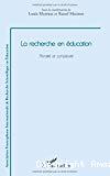 La recherche en éducation