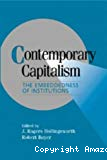 Contemporary capitalism. The embeddedness of institutions.