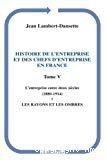 L'entreprise entre deux siècles (1880-1914)