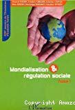 Mondialisation et régulation sociale. Tome 1. XXIIIèmes journées de l'Association d'Economie Sociale. Grenoble, 11-12 septembre 2003.