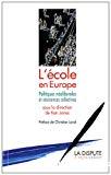 L'école en Europe