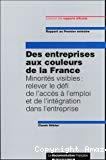 Des entreprises aux couleurs de la France. Minorités visibles : relever le défi de l'accès à l'emploi et de l'intégration dans l'entreprise. Rapport au Premier ministre.