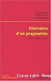 Itinéraires d'un pragmatiste : autour d'Isaac Joseph.