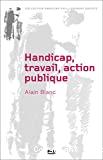 Handicap, travail, action publique
