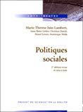 Politiques sociales.