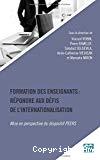 Formation des enseignants : répondre aux défis de l'internationalisation