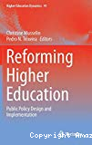 Reforming higher education