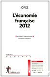 L'économie française 2012