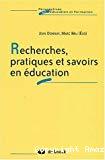 Recherches, pratiques et savoirs en éducation.