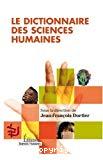 Dictionnaire des sciences humaines.