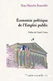 Economie politique de l'emploi public.