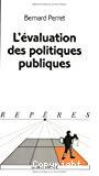L'évaluation des politiques publiques.