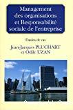 Management des organisations et responsabilité sociale de l'entreprise