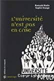 L'Université n'est pas en crise
