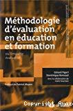 Méthodologie d'évaluation en éducation et formation