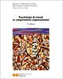 Psychologie du travail et comportement organisationnel.