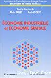 Economie industrielle et économie spatiale.
