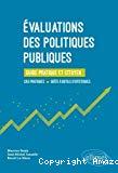 Évaluations des politiques publiques