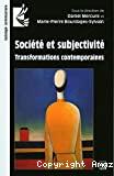 Société et subjectivité.