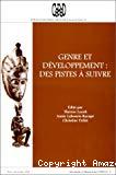 Genre et développement : des pistes à suivre. Textes d'une rencontre scientifique à Paris (11-12 juin 1996).