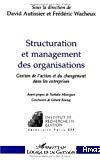 Structuration et management des organisations. Gestion de l'action et du changement dans les entreprises.