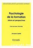 Psychologie de la formation