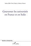 Gouverner les universités en France et en Italie.