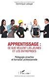 Apprentissage : ce que veulent les jeunes et les entreprises