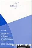 Les universités françaises en mutation : la politique publique de contractualisation (1984-2002). Rapport du groupe de travail présidé par Armand Frémont.