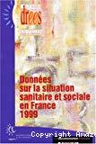 Données sur la situation sanitaire et sociale en France.