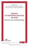 Travail et rapports sociaux de sexe