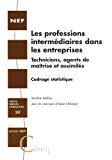 Les professions intermédiaires dans les entreprises